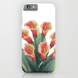 Calla Lily 2 iPhone Case