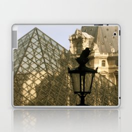 The Raven and The Louvre Laptop & iPad Skin