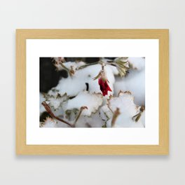 Winters First Blast Framed Art Print