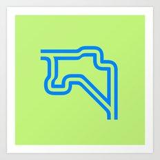 Groningen - Outline Art Print