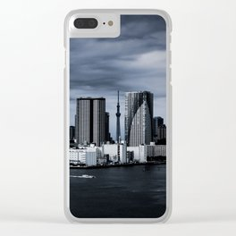 Turbulent Tokyo Clear iPhone Case