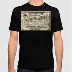 Plaques Ultra Rapides Black Mens Fitted Tee MEDIUM