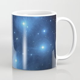 Taurus Constellation, Pleiades star cluster Coffee Mug