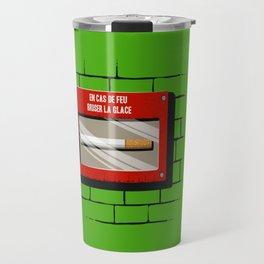 In sae of fire... Travel Mug