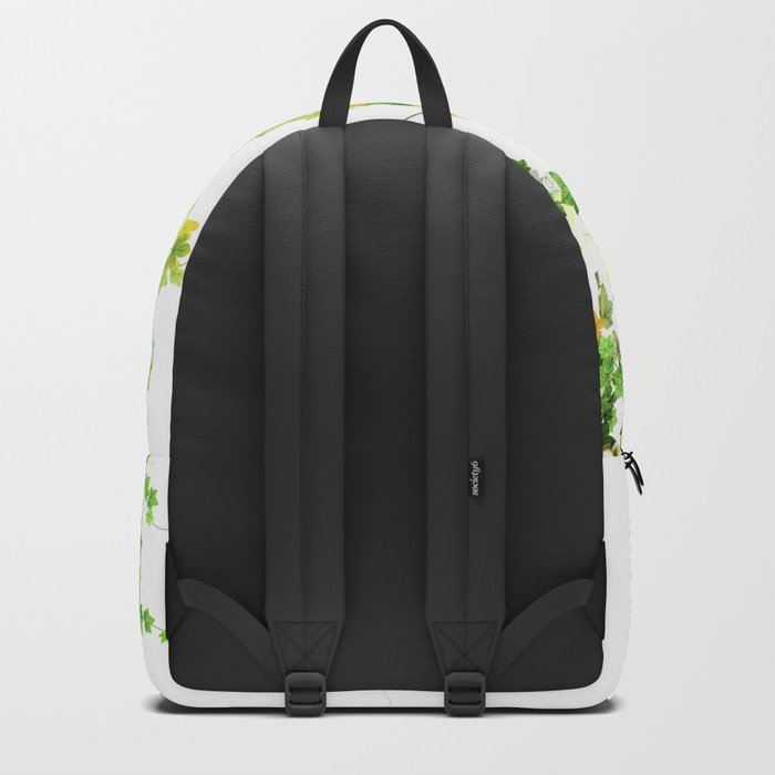 Watercolor Ivy Backpack