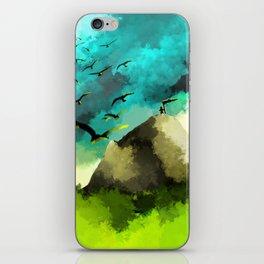 Mountain Peeks iPhone Skin