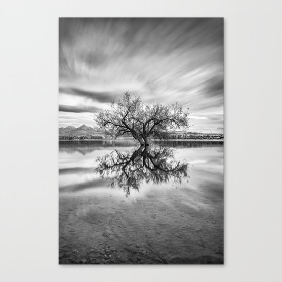 """Magic tree"" Mono Canvas Print"