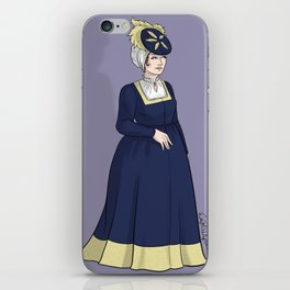 German Woman iPhone Skin