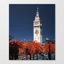 Ferry Building, San Francisco Canvas Print