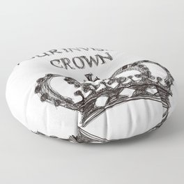 Crown Floor Pillow