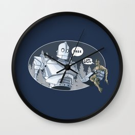 The Giant & Groot Wall Clock