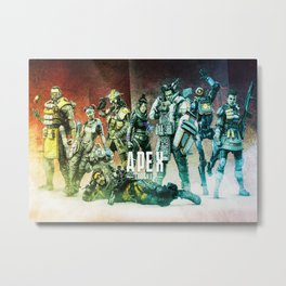 Apex Legends Metal Print