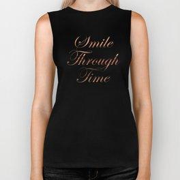 Smile Through Time Biker Tank