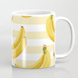 Banana With Stripes Coffee Mug