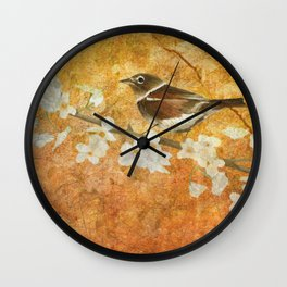 Nightingale's Solstice Wall Clock