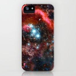 Orion Nebula Deep Colors iPhone Case
