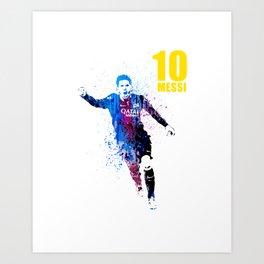 Sports art _ Barcelona Art Print