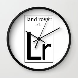 Periodically, you have to Land. Wall Clock