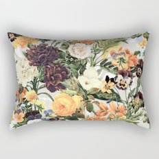 Floral E Rectangular Pillow