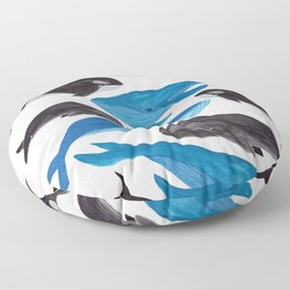 Whales Floor Pillow