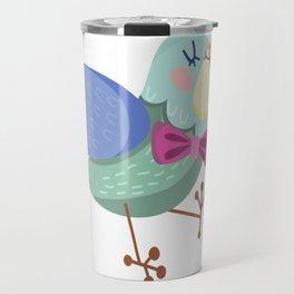 Cute Bird Travel Mug
