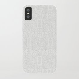 Swedish Folk Art - Subtle iPhone Case