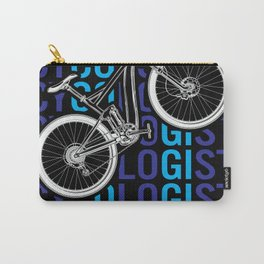 Cycologist Funny Bike Bicycle Humor Carry-All Pouch