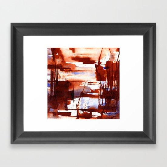 shipyard Framed Art Print