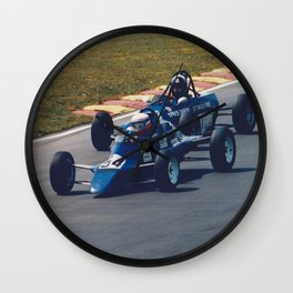 Classic Single Seater Racing Wall Clock