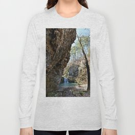 Alone in Secret Hollow with the Caves, Cascades, and Critters, No. 16 of 21 Long Sleeve T-shirt