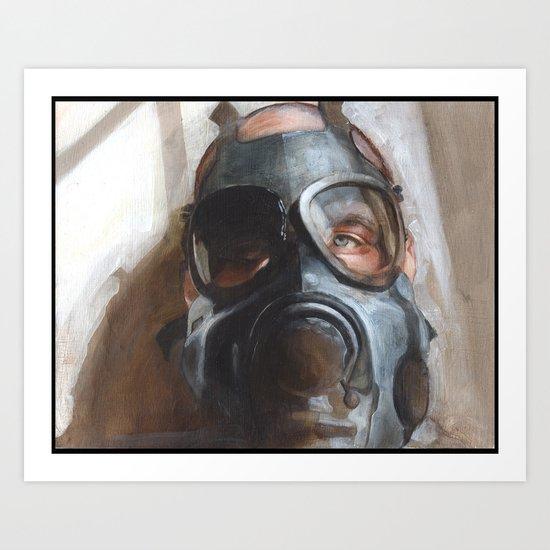 Classical Gas Art Print