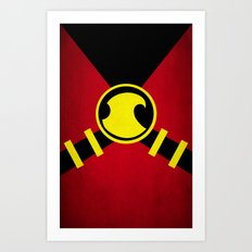 Red Robin Art Print