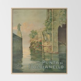 Vintage poster - Italy Throw Blanket