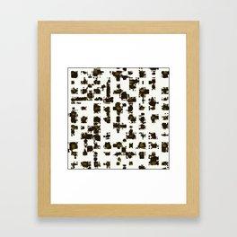 POUCE Framed Art Print