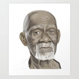 Dr Sebi The Cure Art Print