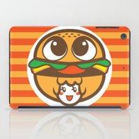 pagan iPad Cases featuring Pagan Burger by Pagan Holladay