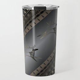 Elk Spirit (Gray) Travel Mug