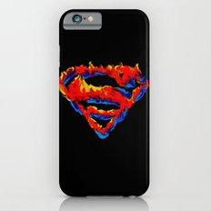 Superman in Flames Slim Case iPhone 6