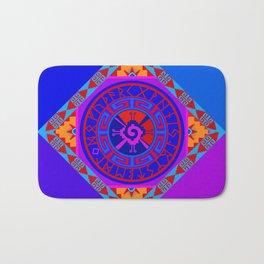 Astrological Hunab Ku Bath Mat
