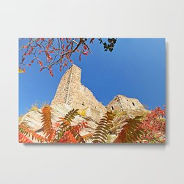 Autumnally castle Metal Print