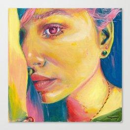 Personalidad Canvas Print