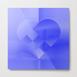 Danish Heart Blues Metal Print