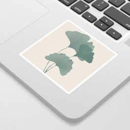 Ginko Leaves Sticker