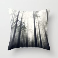 abyss Throw Pillows featuring Abyss by Aida Gradina