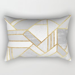 Gold City Rectangular Pillow