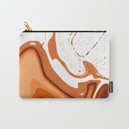 Warm Colors Abstract Design Carry-All Pouch