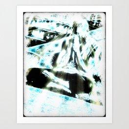 Transending Art Print