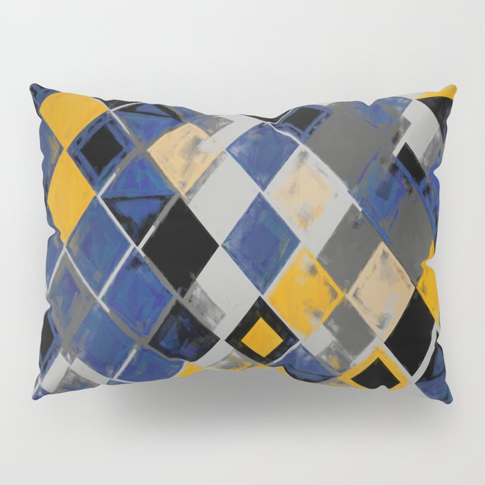 Abstract Composition 390 Pillow Sham