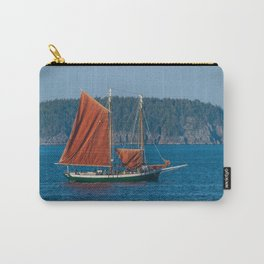 Sailing Ship off Coast of Maine Carry-All Pouch