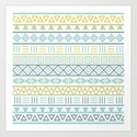 Aztec Influence Ptn Colorful by nataliepaskell